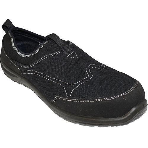 Obuv Steelite Tegid Slip On Trainer S1P, černá