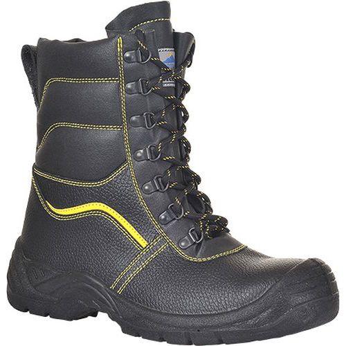 Zateplená kotníková obuv Steelite Protektor S3 CI, černá