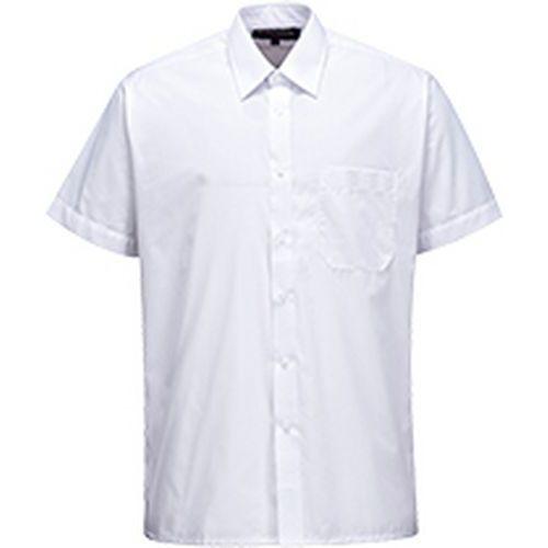 Klasická košile s krátkým rukávem, bílá