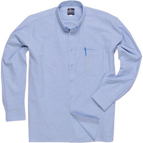 Košile Oxford s dlouhými rukávy, modrá, vel. 160