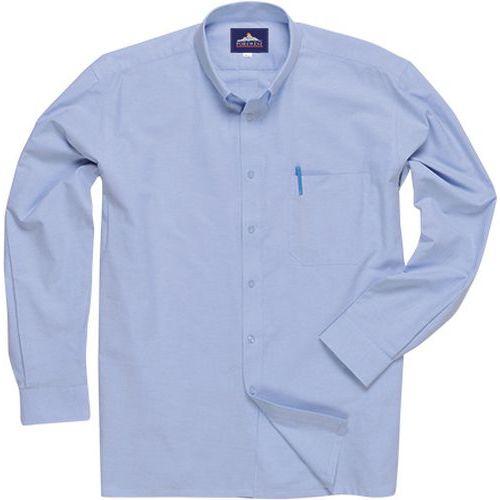 Košile Oxford Easycare s dlouhými rukávy snadná údržba, modrá, v