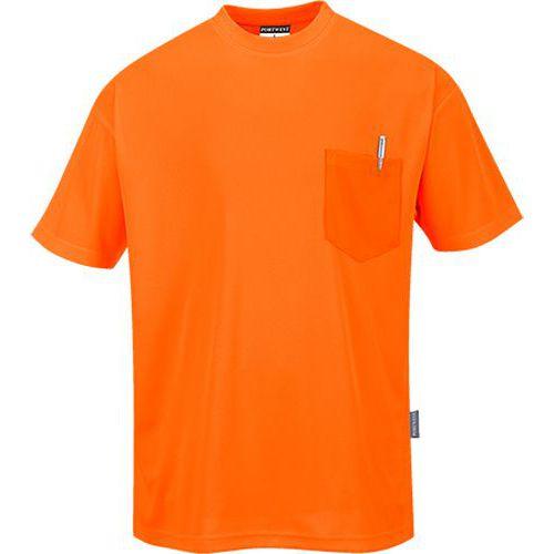 Triko Day-Vis s krátkými rukávy, oranžová