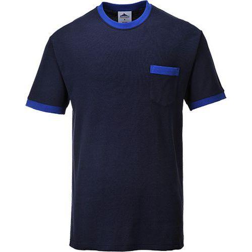 Triko Portwest Texo Contrast, modrá