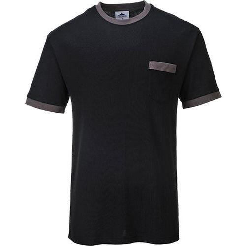 Triko Portwest Texo Contrast, černá