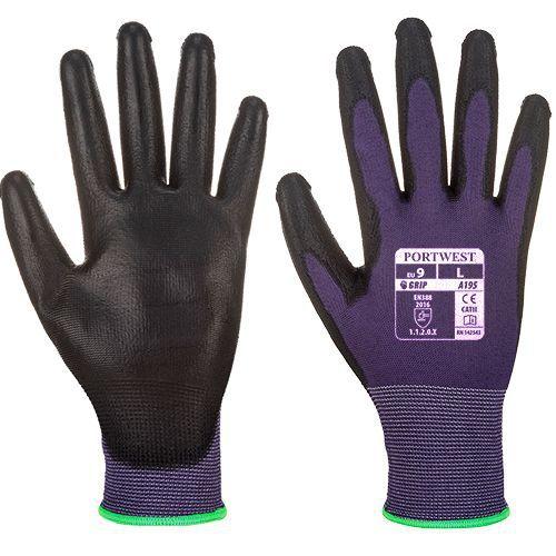 Portwest Dotykové rukavice PU, fialová, vel. S