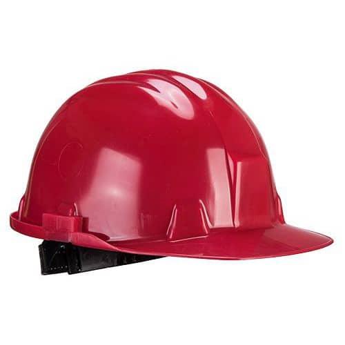 Bezpečnostní helma Workbase, červená