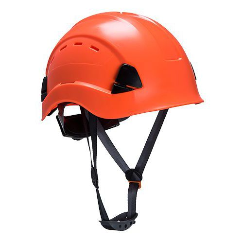 Helma s ventilací Height Endurance, oranžová