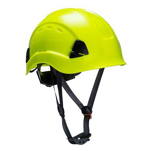 Helma s ventilací Height Endurance, žlutá