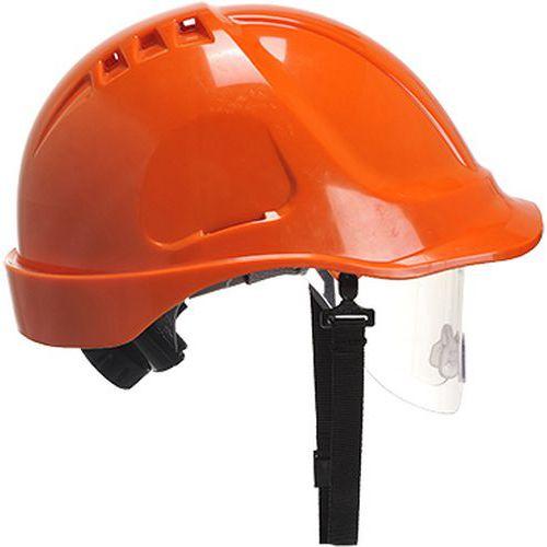 Přilba Endurance Visor, oranžová