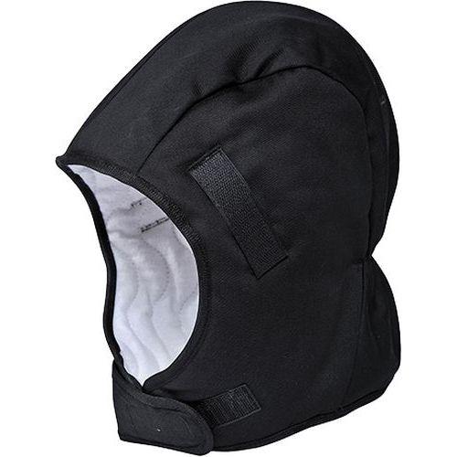 Zimní vložka do helmy, černá