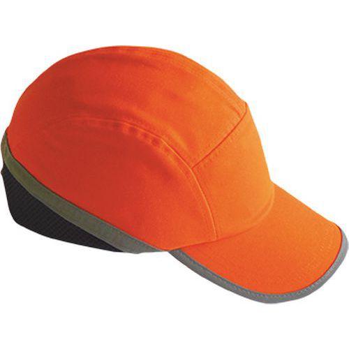 Hi-Vis kšiltovka s výztuhou, oranžová