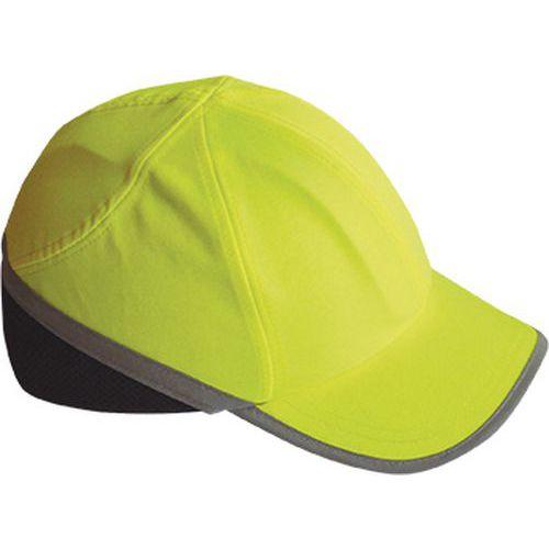 Hi-Vis kšiltovka s výztuhou, žlutá