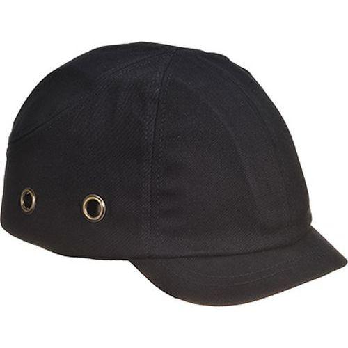 Zkrácená kšiltovka s výztuhou, černá