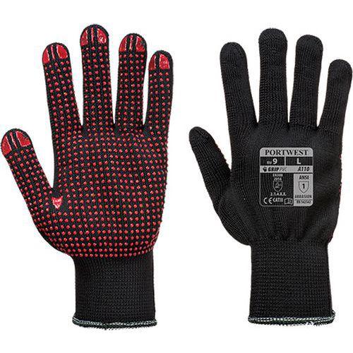 Rukavice Polka Dot, černá, vel. XS