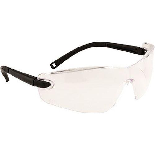 Profilované ochranné brýle, transparentní