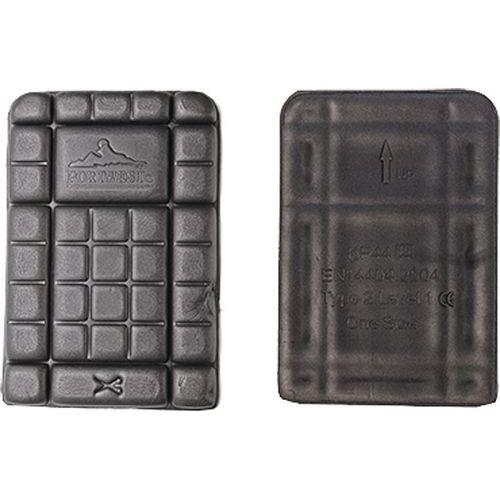 Kolenní vložky CE, černá