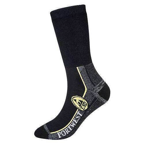 ESD pracovní ponožky, černá