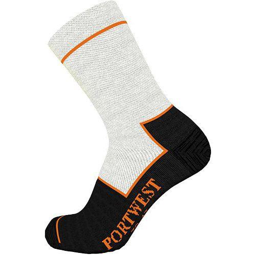 Ponožky Cut Resistant, černá