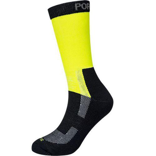 Ponožky Lightweight Hi-Visibility, žlutá