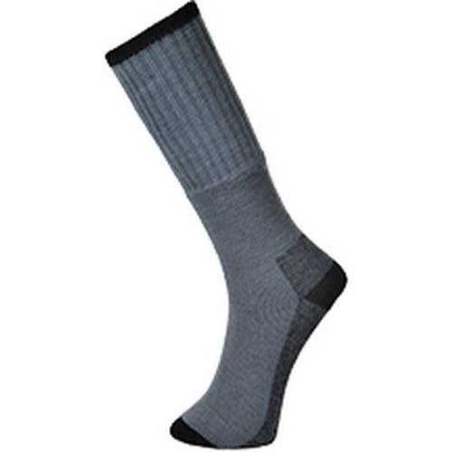 Pracovní ponožky (3 páry), šedá