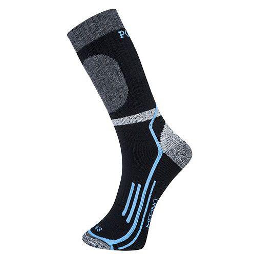 Ponožky Winter Merino, černá