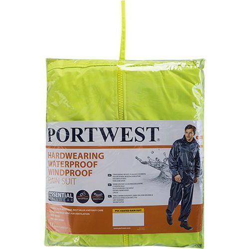 Oděv do deště Essentials (dvoudílný oděv), žlutá