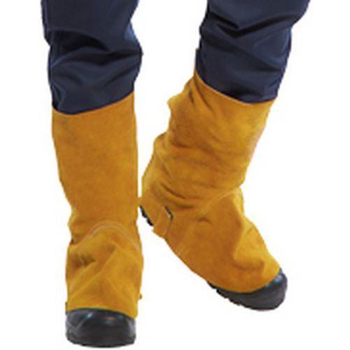 Portwest Kožené návleky na obuv, světle hnědá
