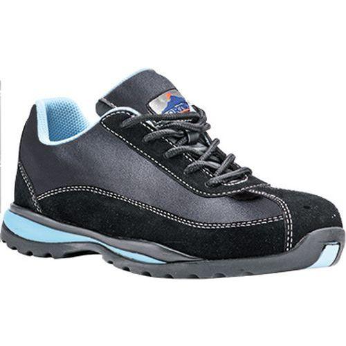 Steelite dámské Safety Trainer S1P HRO, černá;modrá, vel. 43
