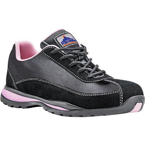 Steelite dámské Safety Trainer S1P HRO, černá,růžová