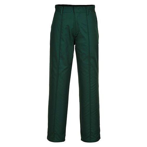 Kalhoty Preston, zelená