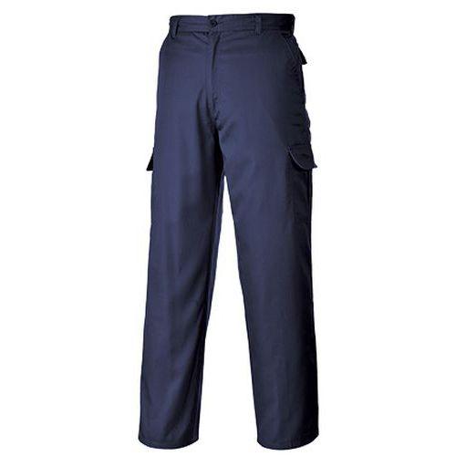 Kalhoty Combat, modrá, extra prodloužené, vel. 38