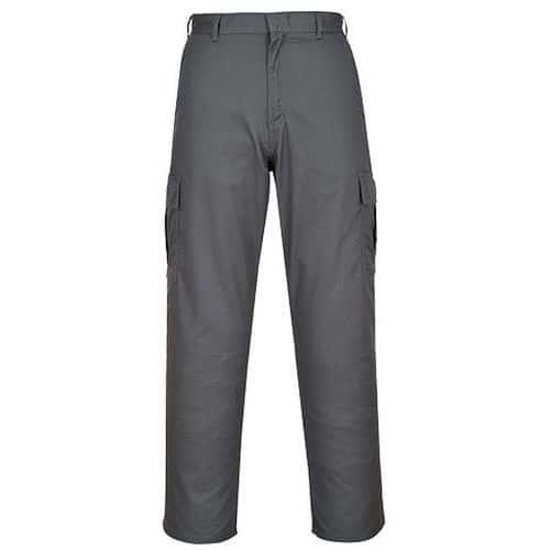 Kalhoty Combat, šedá, normální, vel. S