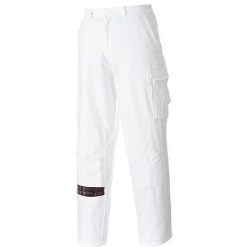 Kalhoty pro malíře, bílá