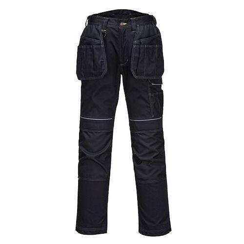 Pracovní kalhoty PW3 Holster, černá