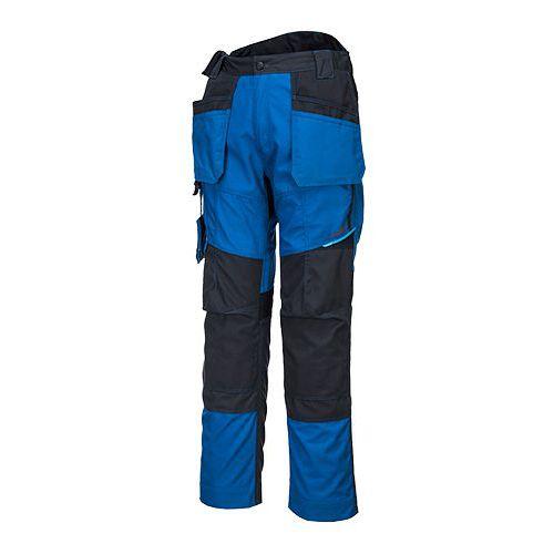 Kalhoty WX3 Holster, černá/modrá, zkrácené, vel. 41