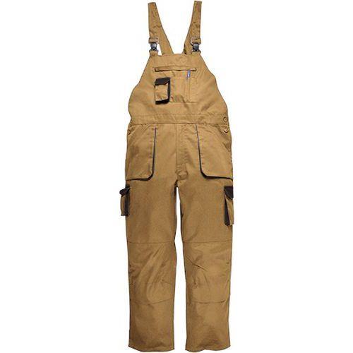 Portwest Texo laclové dvoubarevné kalhoty, světle hnědá