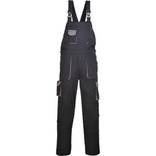 Portwest Texo laclové dvoubarevné kalhoty, černá, normální, vel.