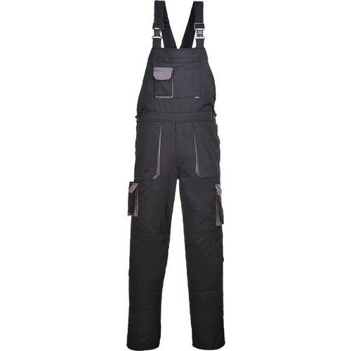 Portwest Texo laclové dvoubarevné kalhoty, černá, prodloužené, v