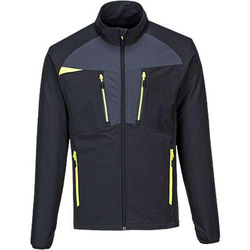 DX4 bunda na zip, černá