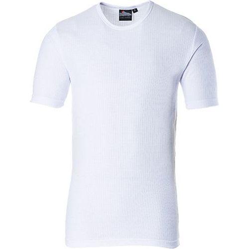 Thermo triko s krátkým rukávem, bílá, vel. XL