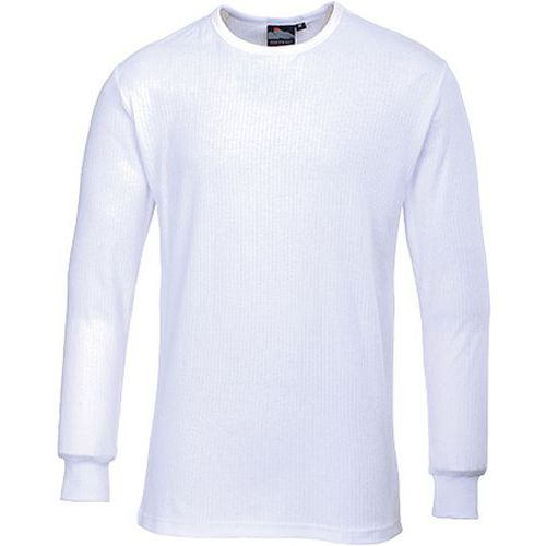 Thermo triko s dlouhými rukávy, bílá, vel. M