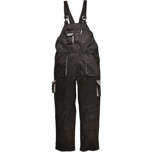 Portwest Texo zateplené laclové kalhoty, černá