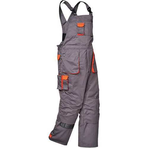 Portwest Texo zateplené laclové kalhoty, šedá