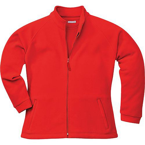 Dámská fleece Aran, červená, vel. S