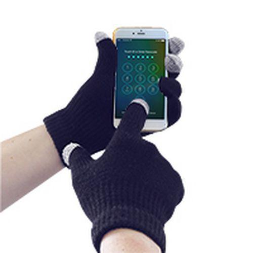 Portwest Pletené rukavice Touchscreen, modrá, vel. L-XL