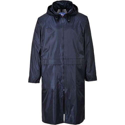 Klasický pánský plášť do deště, modrá