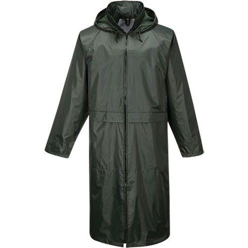 Klasický pánský plášť do deště, zelená