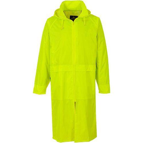Klasický pánský plášť do deště, žlutá, vel. XL