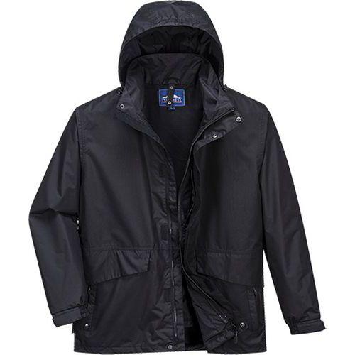 Prodyšná bunda Argo 3v1, černá