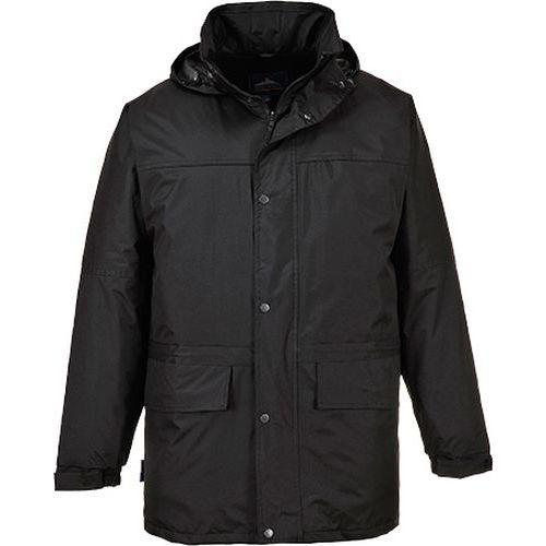 Bunda Oban s fleece podšívkou, černá